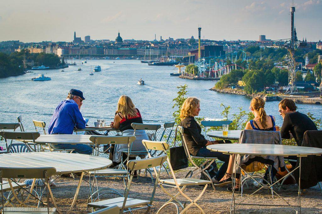 Fåfängan, Café, restaurang & utsiktsplats