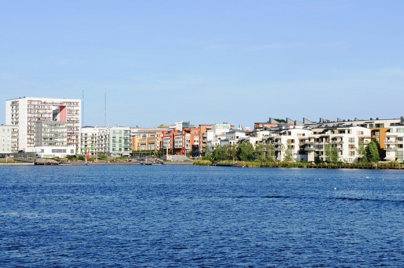 Sjöstaden panorama
